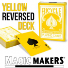 REVERSED BACK BICYCLE DECK - YELLOW